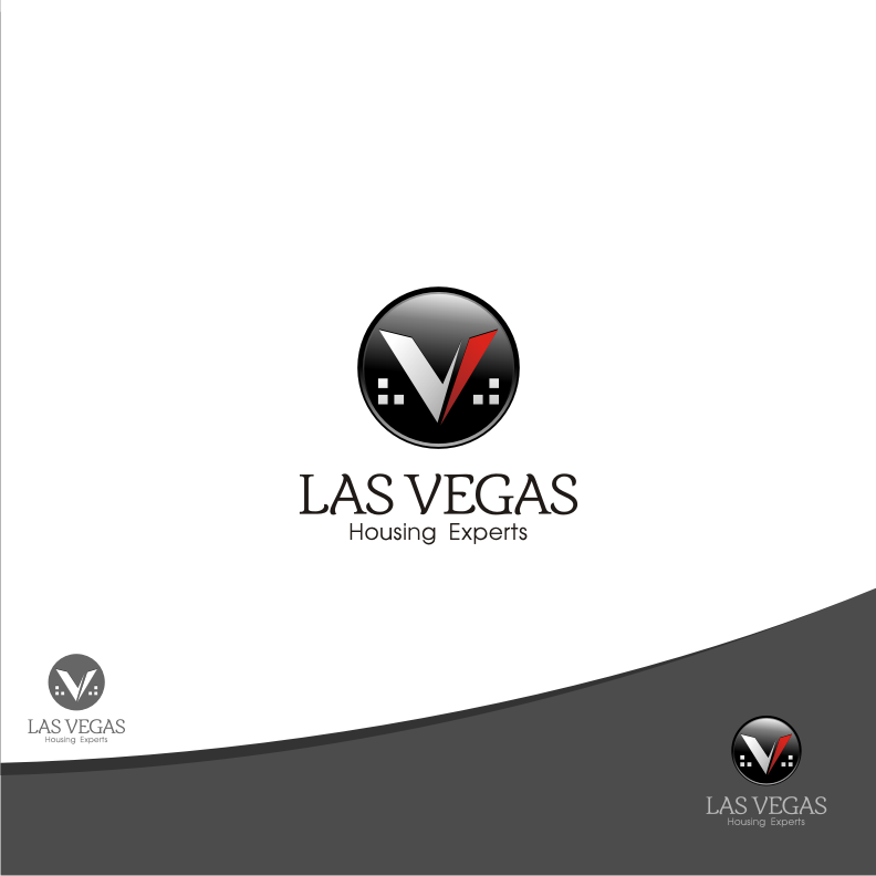Logo Design by graphicleaf - Entry No. 19 in the Logo Design Contest Las Vegas Housing Experts Logo Design.