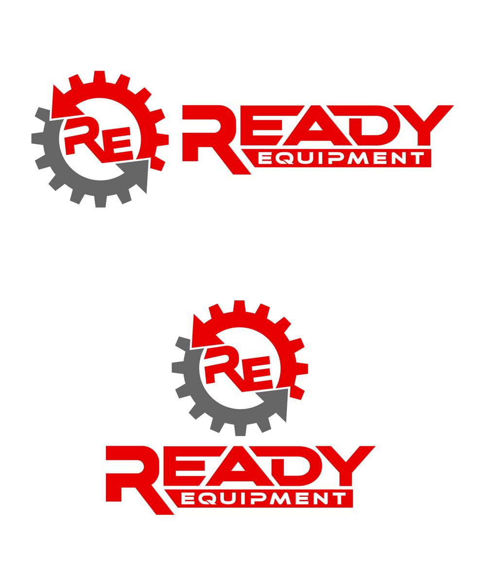 Logo Design by Robert Turla - Entry No. 123 in the Logo Design Contest Ready Equipment  Logo Design.