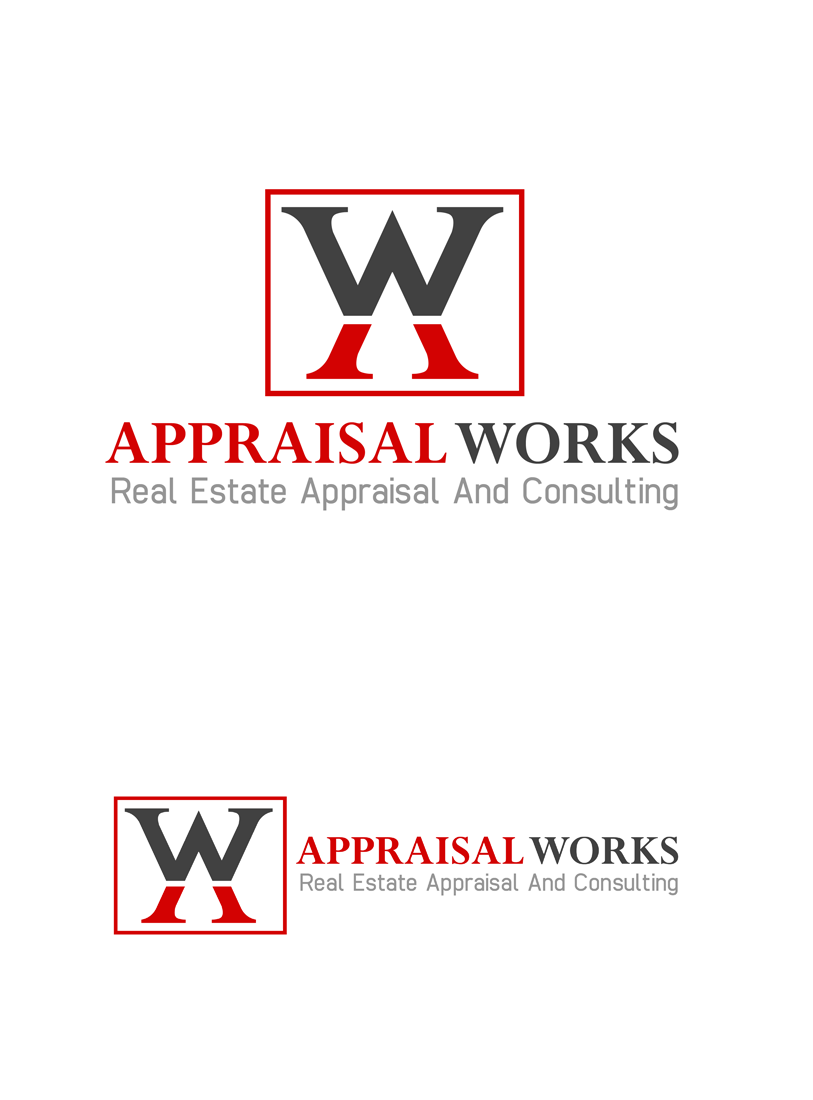 Logo Design by Private User - Entry No. 74 in the Logo Design Contest Appraisal Works Logo Design.
