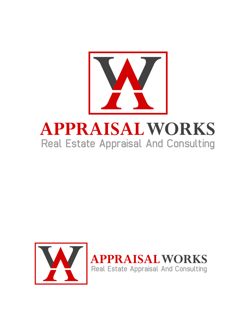 Logo Design by Private User - Entry No. 75 in the Logo Design Contest Appraisal Works Logo Design.