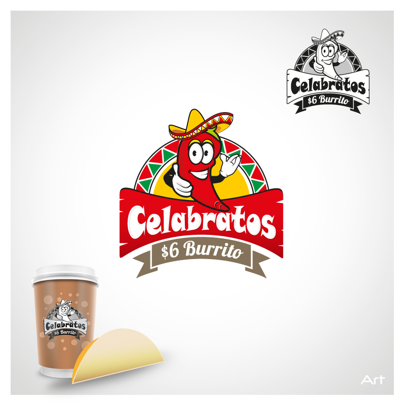 Logo Design by Puspita Wahyuni - Entry No. 5 in the Logo Design Contest Imaginative Logo Design for Celabratos.