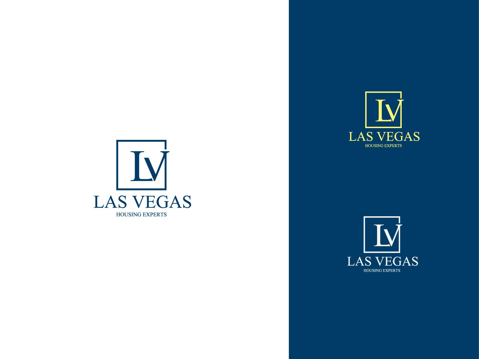 Logo Design by Osi Indra - Entry No. 22 in the Logo Design Contest Las Vegas Housing Experts Logo Design.