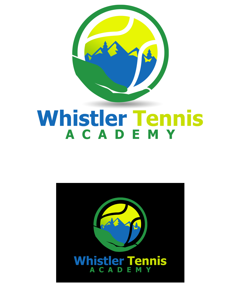 Logo Design by Private User - Entry No. 136 in the Logo Design Contest Imaginative Logo Design for Whistler Tennis Academy.