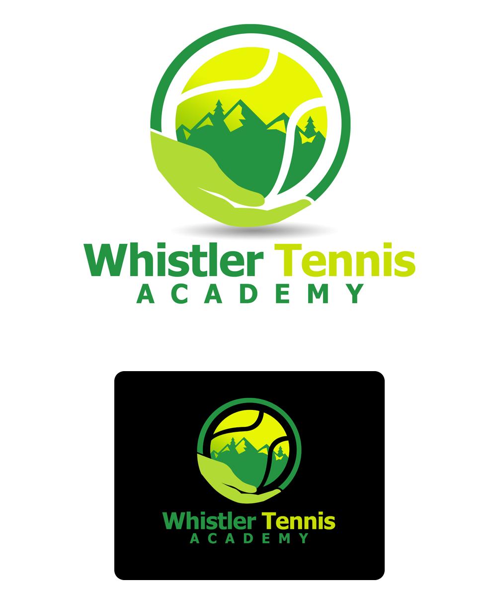 Logo Design by Private User - Entry No. 137 in the Logo Design Contest Imaginative Logo Design for Whistler Tennis Academy.