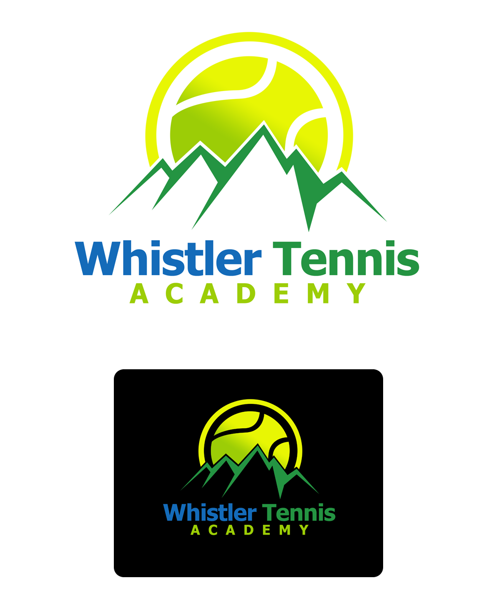 Logo Design by Robert Turla - Entry No. 139 in the Logo Design Contest Imaginative Logo Design for Whistler Tennis Academy.
