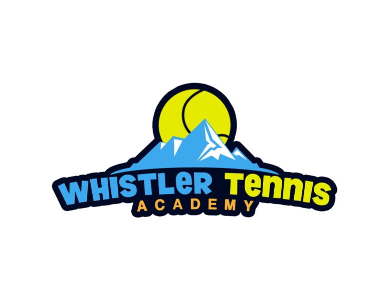 Logo Design by Juan_Kata - Entry No. 140 in the Logo Design Contest Imaginative Logo Design for Whistler Tennis Academy.
