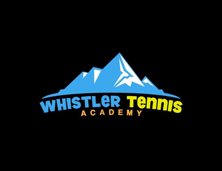 Logo Design by Juan_Kata - Entry No. 143 in the Logo Design Contest Imaginative Logo Design for Whistler Tennis Academy.