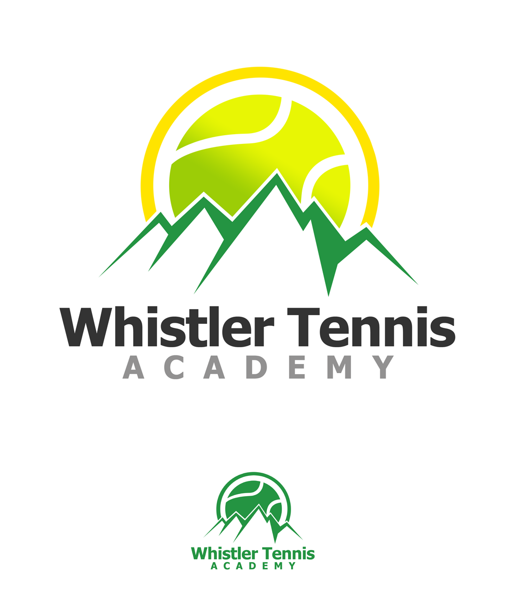 Logo Design by Private User - Entry No. 146 in the Logo Design Contest Imaginative Logo Design for Whistler Tennis Academy.