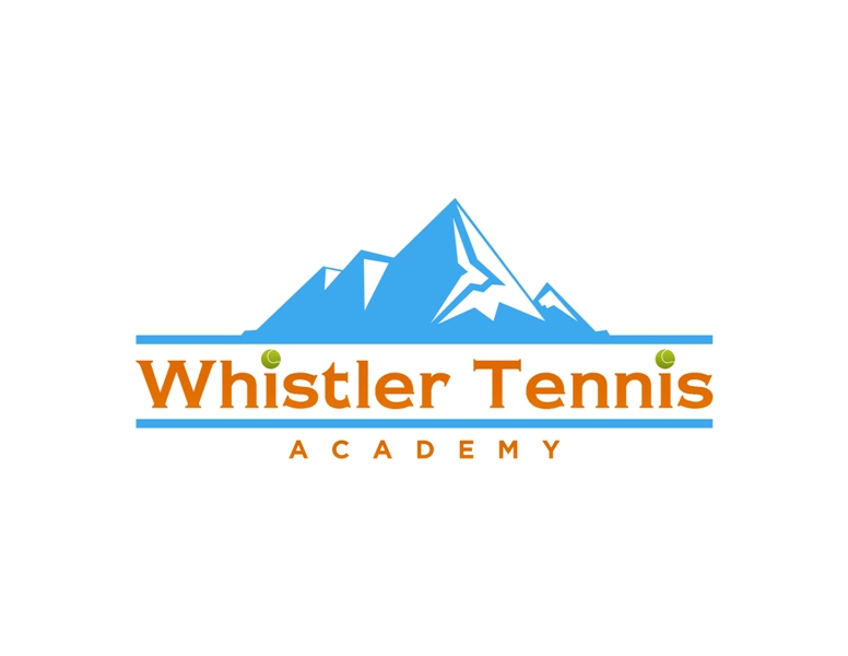 Logo Design by Juan_Kata - Entry No. 147 in the Logo Design Contest Imaginative Logo Design for Whistler Tennis Academy.