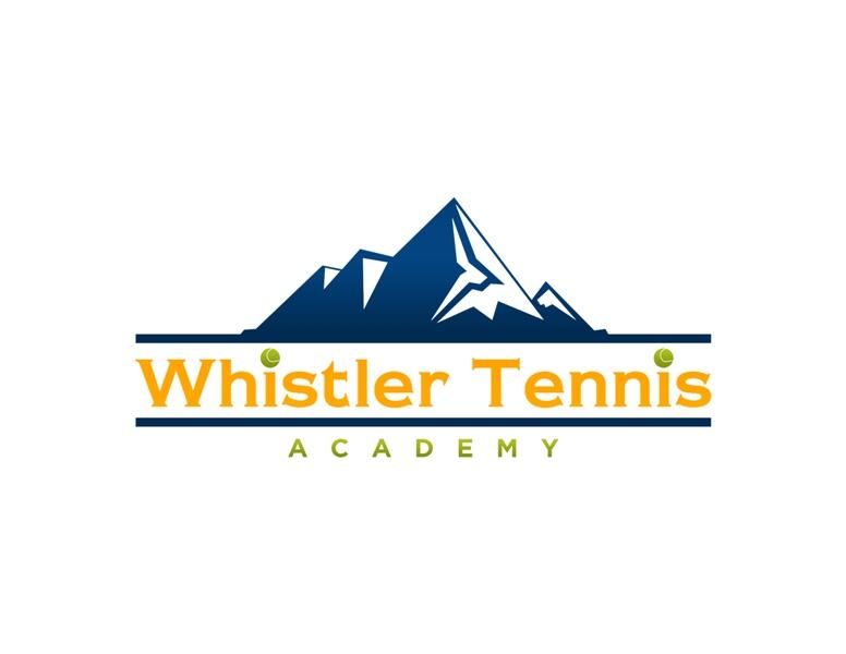 Logo Design by Juan_Kata - Entry No. 148 in the Logo Design Contest Imaginative Logo Design for Whistler Tennis Academy.