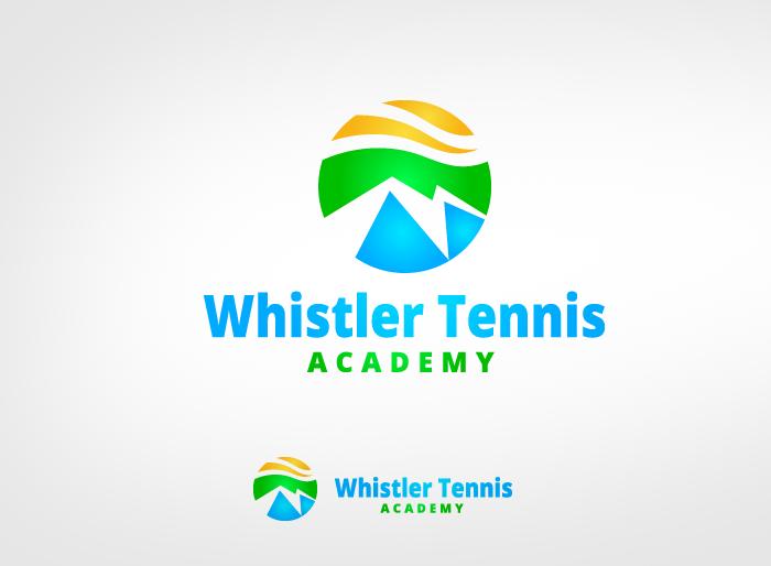 Logo Design by Jan Chua - Entry No. 152 in the Logo Design Contest Imaginative Logo Design for Whistler Tennis Academy.