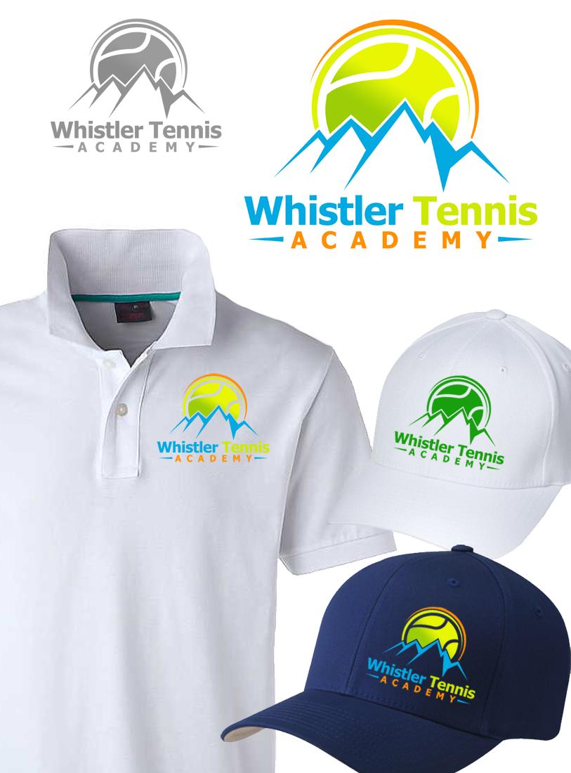 Logo Design by Private User - Entry No. 158 in the Logo Design Contest Imaginative Logo Design for Whistler Tennis Academy.