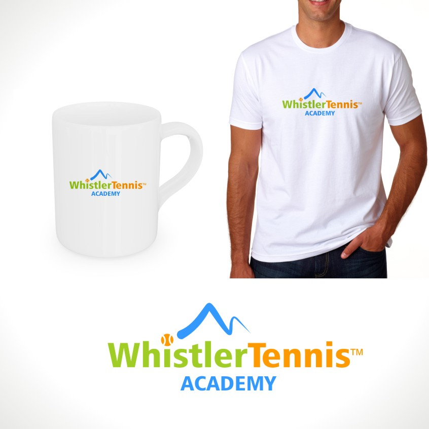 Logo Design by Private User - Entry No. 161 in the Logo Design Contest Imaginative Logo Design for Whistler Tennis Academy.