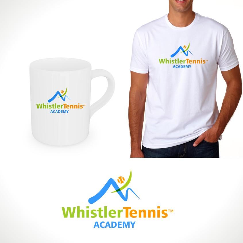 Logo Design by Private User - Entry No. 163 in the Logo Design Contest Imaginative Logo Design for Whistler Tennis Academy.
