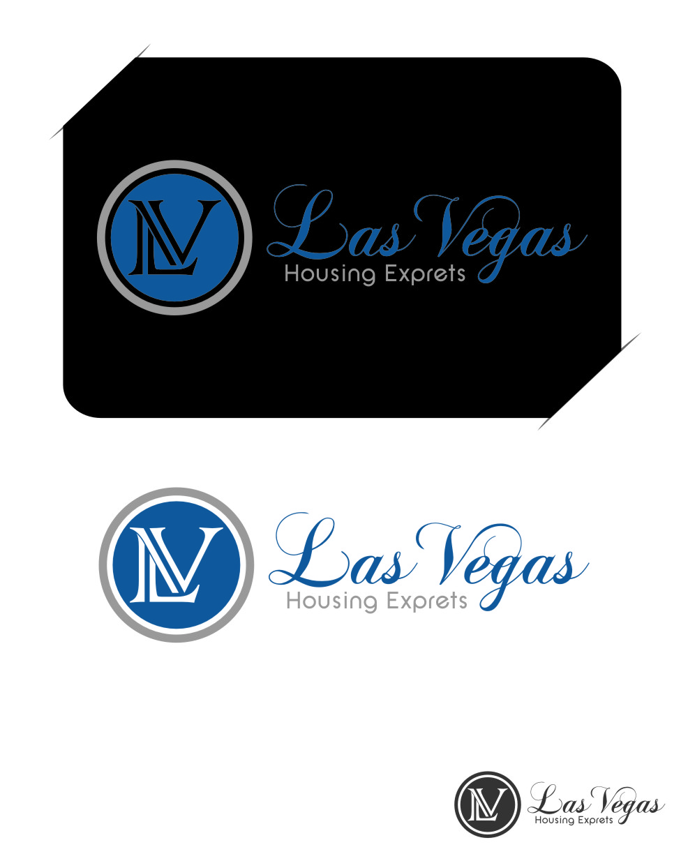 Logo Design by Ngepet_art - Entry No. 24 in the Logo Design Contest Las Vegas Housing Experts Logo Design.