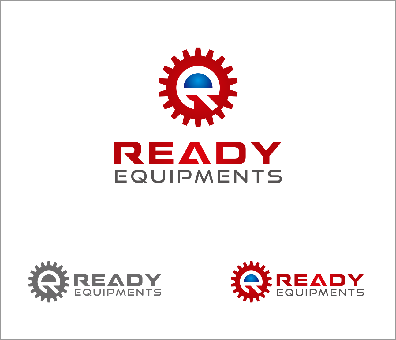 Logo Design by Armada Jamaluddin - Entry No. 144 in the Logo Design Contest Ready Equipment  Logo Design.