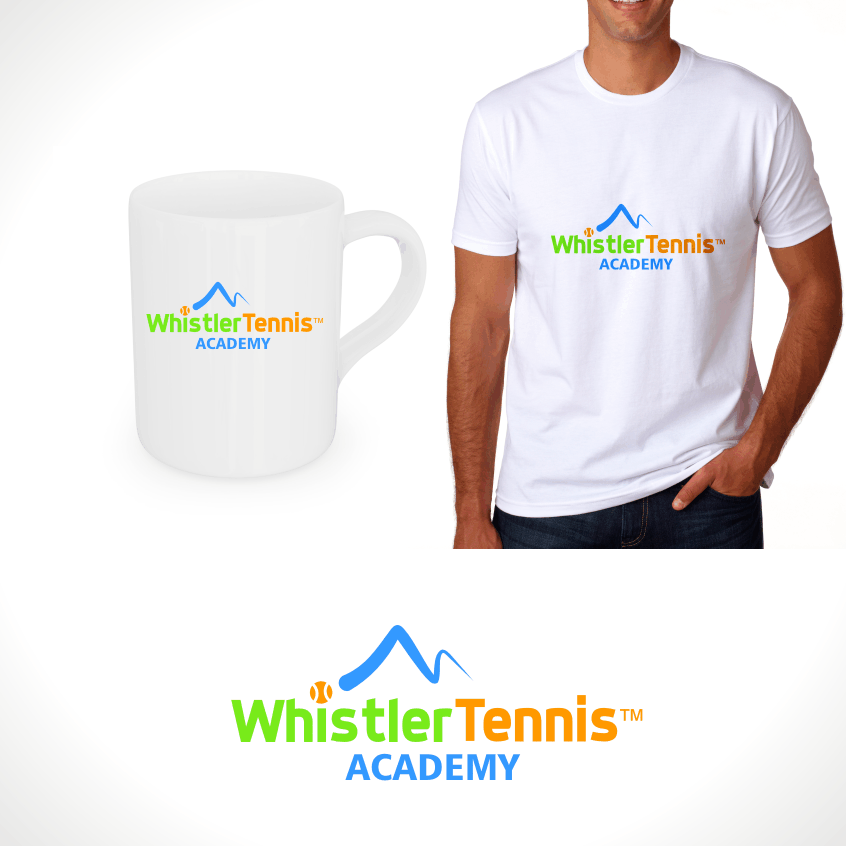 Logo Design by Private User - Entry No. 177 in the Logo Design Contest Imaginative Logo Design for Whistler Tennis Academy.
