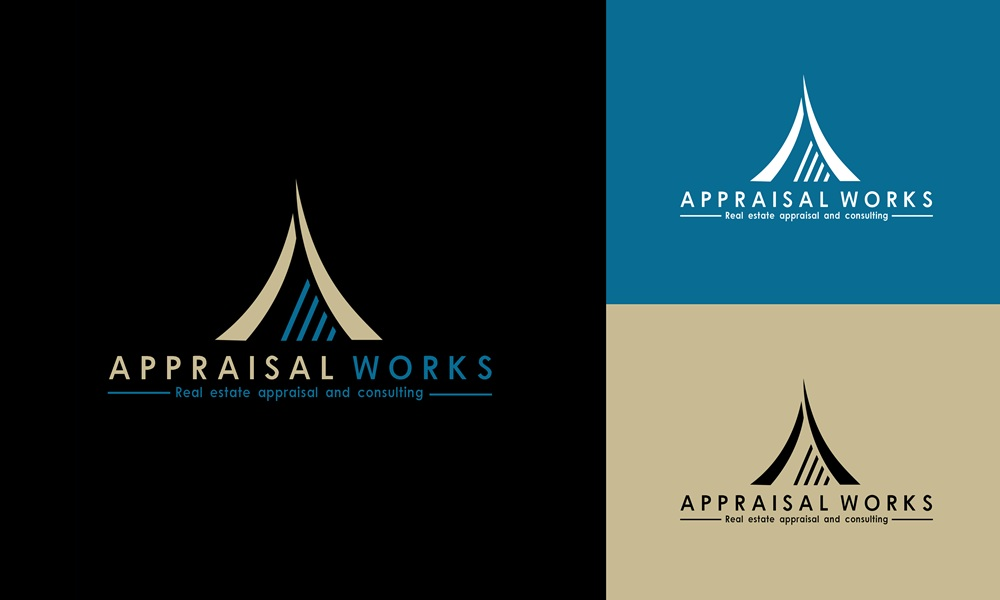 Logo Design by Respati Himawan - Entry No. 92 in the Logo Design Contest Appraisal Works Logo Design.