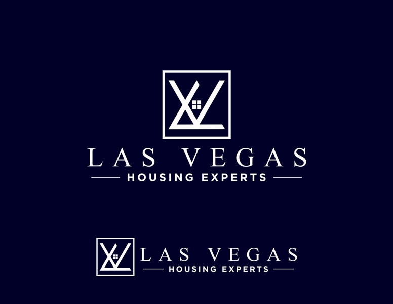 Logo Design by Juan_Kata - Entry No. 44 in the Logo Design Contest Las Vegas Housing Experts Logo Design.