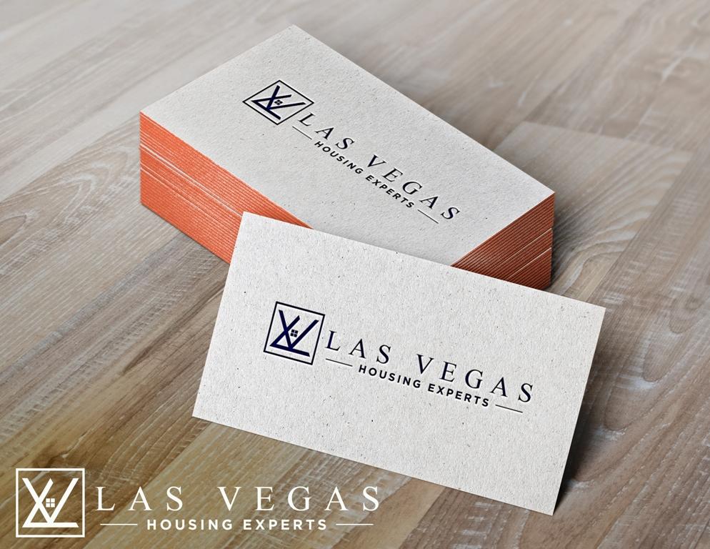Logo Design by Juan_Kata - Entry No. 45 in the Logo Design Contest Las Vegas Housing Experts Logo Design.