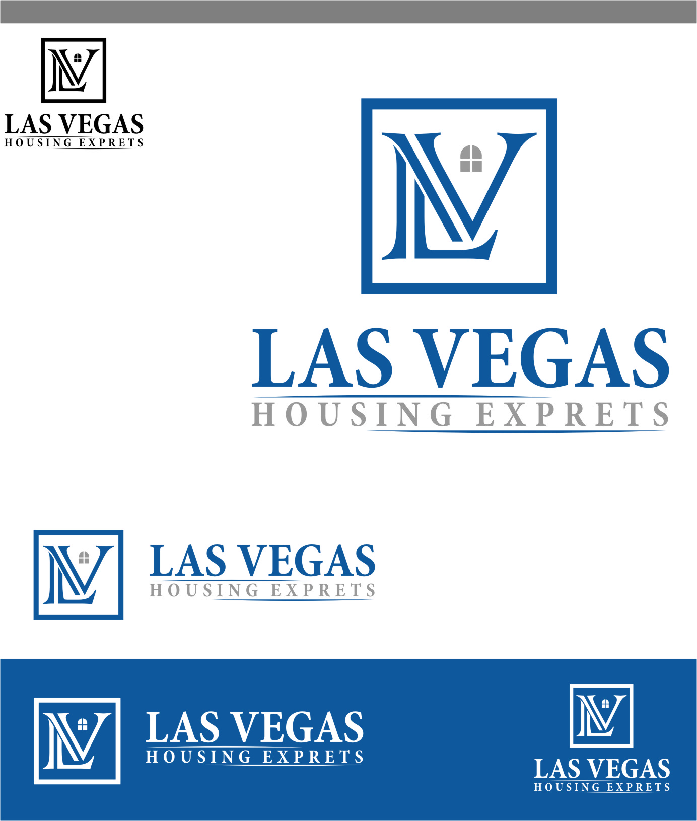 Logo Design by RasYa Muhammad Athaya - Entry No. 48 in the Logo Design Contest Las Vegas Housing Experts Logo Design.