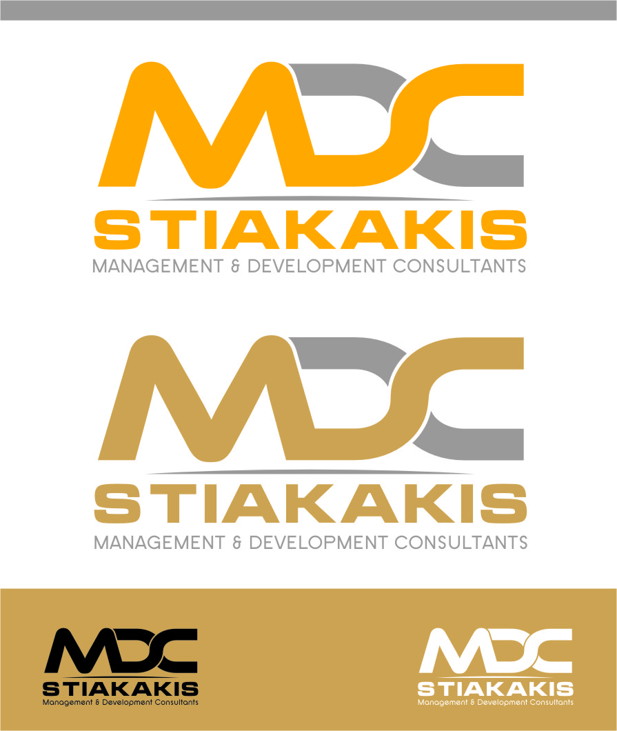Logo Design by Ngepet_art - Entry No. 13 in the Logo Design Contest Unique Logo Design Wanted for MDC STIAKAKIS.