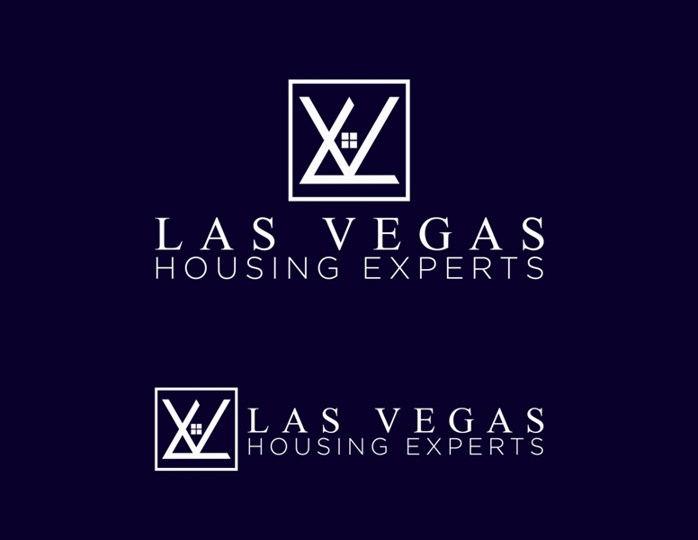 Logo Design by Juan_Kata - Entry No. 55 in the Logo Design Contest Las Vegas Housing Experts Logo Design.