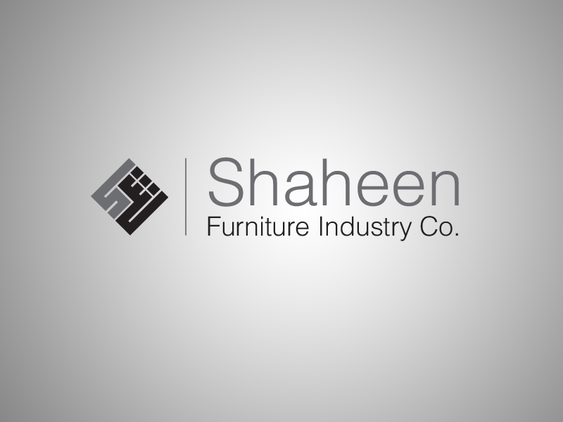 Logo Design by Mohamed Abdulrub - Entry No. 1 in the Logo Design Contest Artistic Logo Design for Shaheen Furniture Industry Co..