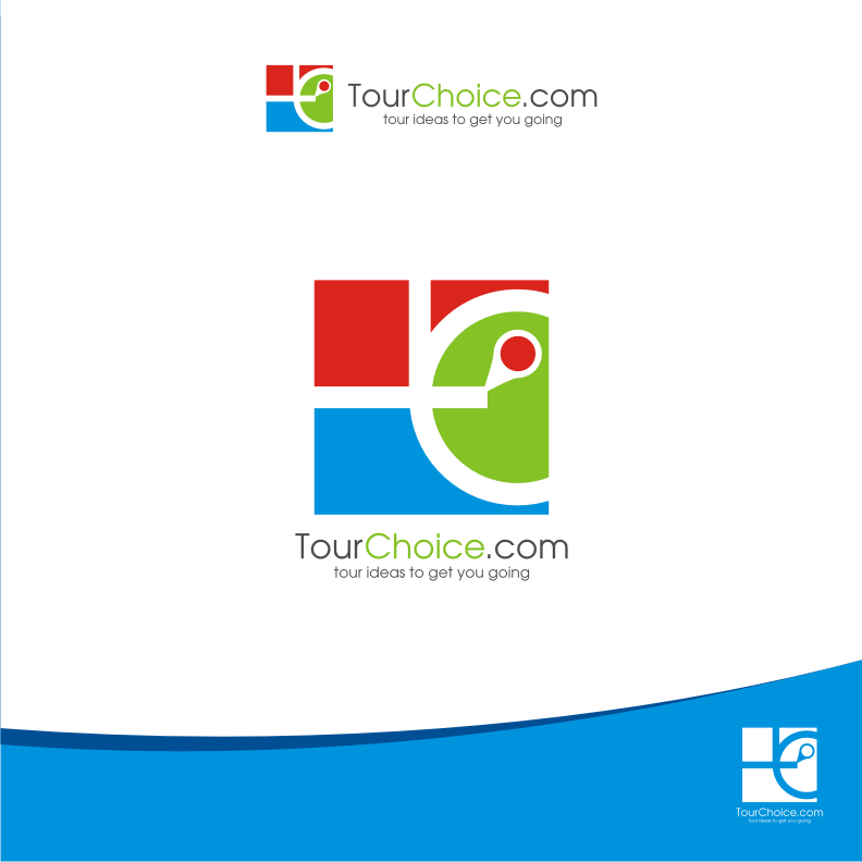 Logo Design by graphicleaf - Entry No. 24 in the Logo Design Contest www.TourChoice.com Logo Design.