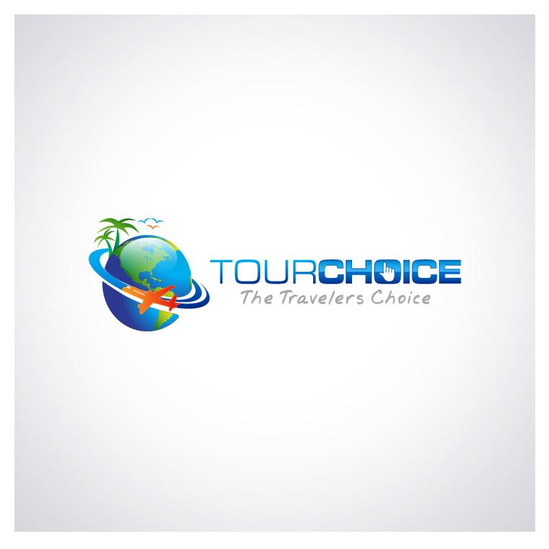 Logo Design by Puspita Wahyuni - Entry No. 30 in the Logo Design Contest www.TourChoice.com Logo Design.