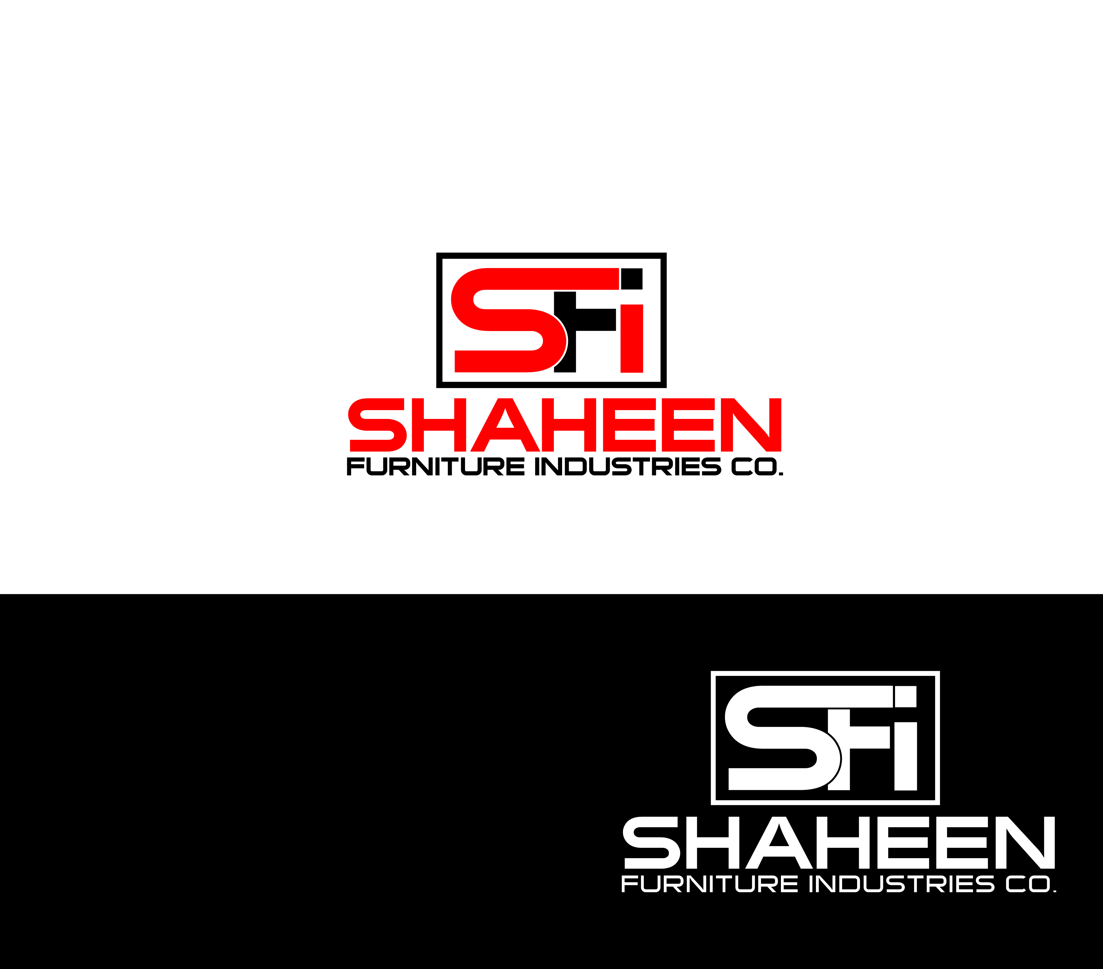 Logo Design by Private User - Entry No. 2 in the Logo Design Contest Artistic Logo Design for Shaheen Furniture Industry Co..