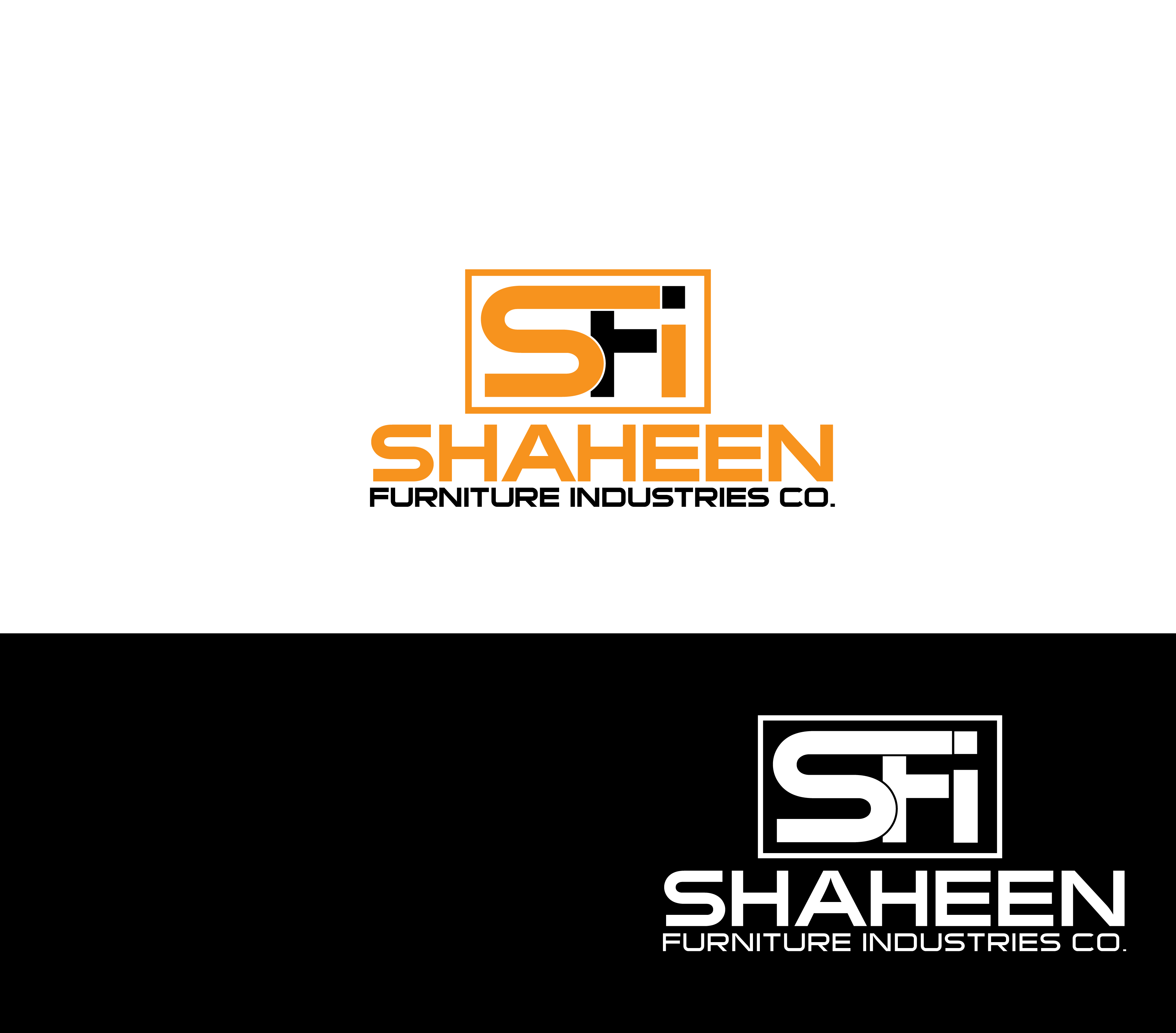 Logo Design by Private User - Entry No. 3 in the Logo Design Contest Artistic Logo Design for Shaheen Furniture Industry Co..
