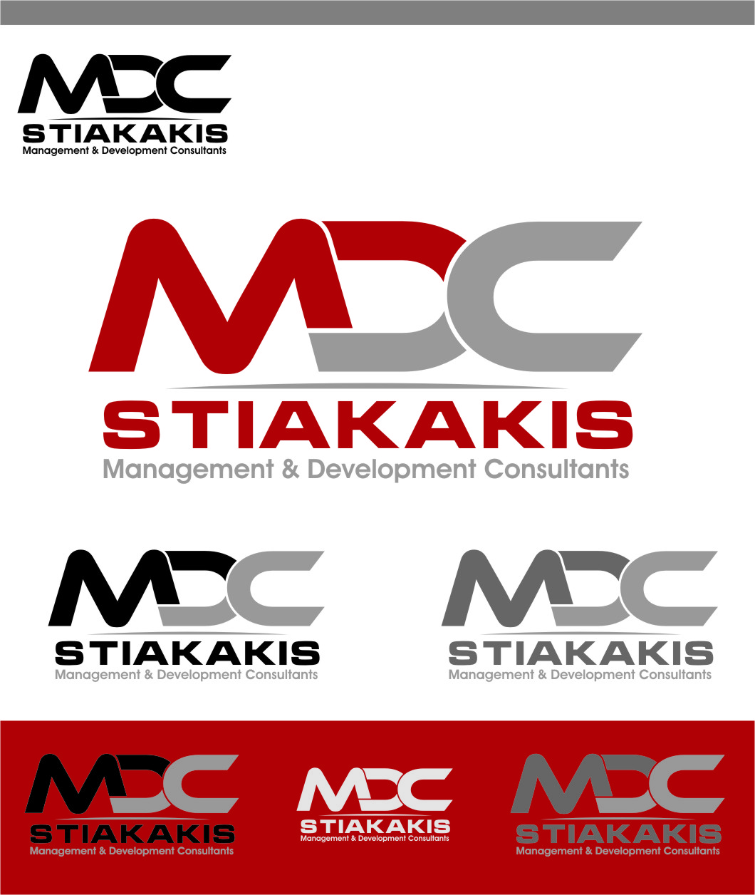 Logo Design by Ngepet_art - Entry No. 22 in the Logo Design Contest Unique Logo Design Wanted for MDC STIAKAKIS.