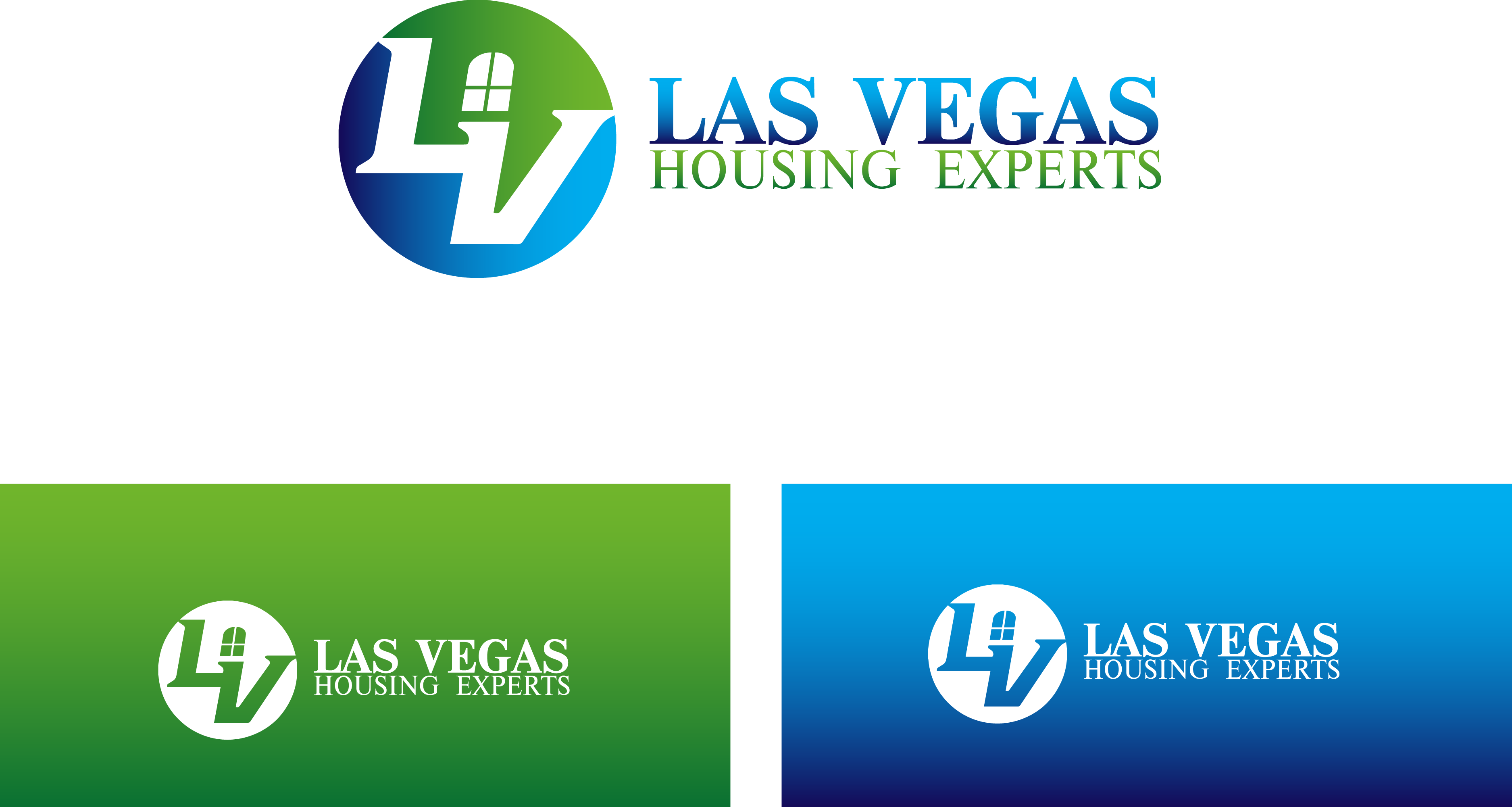 Logo Design by Private User - Entry No. 63 in the Logo Design Contest Las Vegas Housing Experts Logo Design.