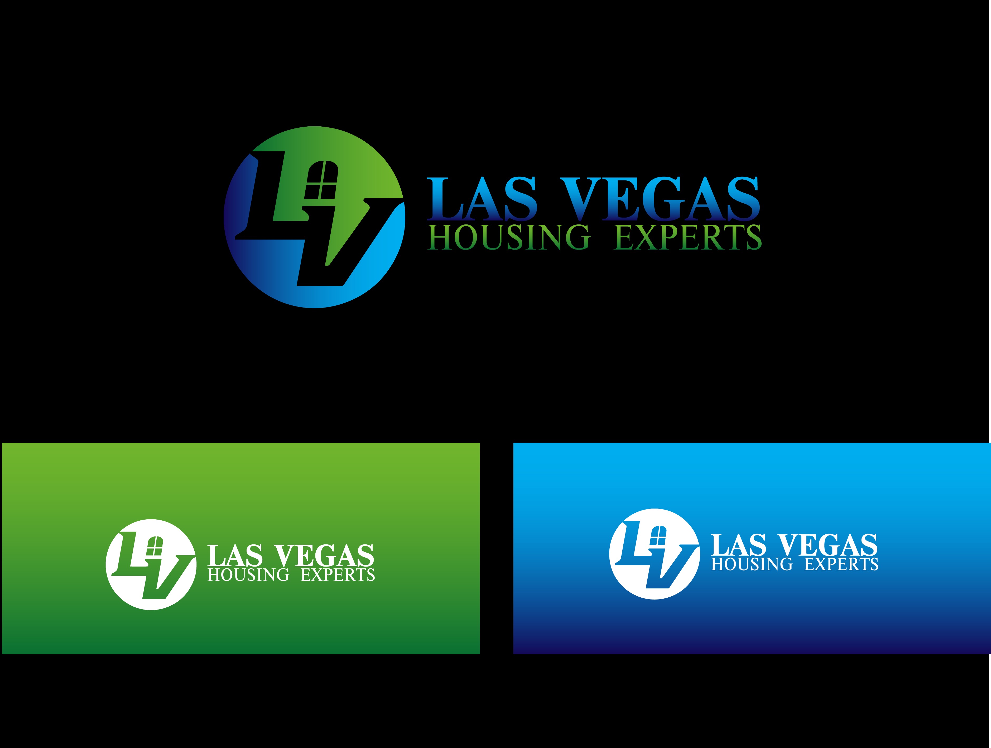 Logo Design by Private User - Entry No. 64 in the Logo Design Contest Las Vegas Housing Experts Logo Design.