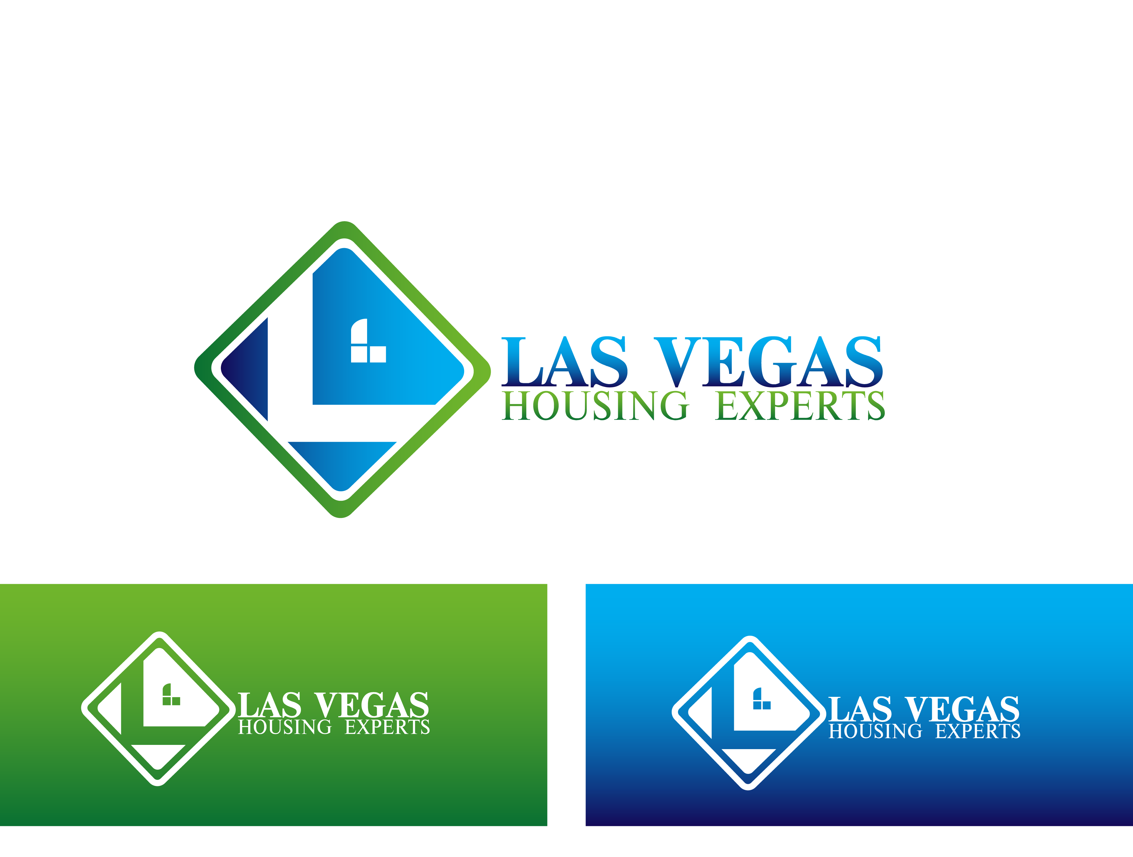 Logo Design by Private User - Entry No. 65 in the Logo Design Contest Las Vegas Housing Experts Logo Design.