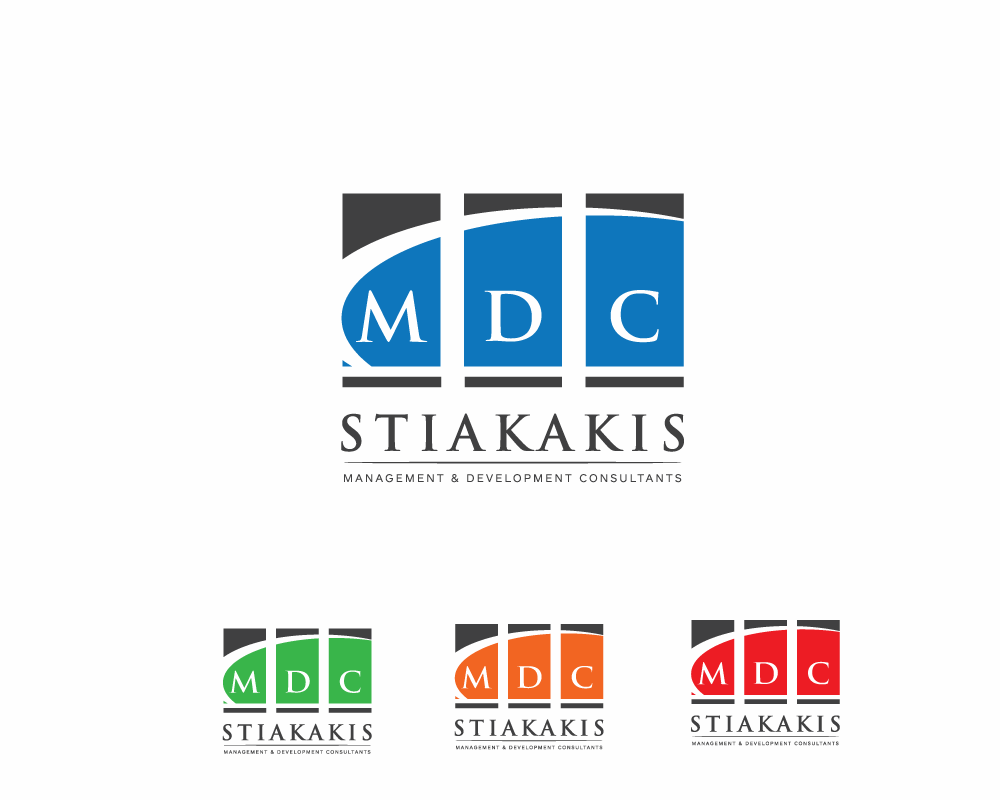 Logo Design by roc - Entry No. 25 in the Logo Design Contest Unique Logo Design Wanted for MDC STIAKAKIS.