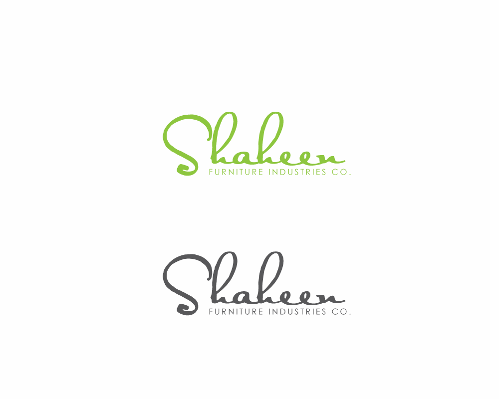 Logo Design by roc - Entry No. 7 in the Logo Design Contest Artistic Logo Design for Shaheen Furniture Industry Co..