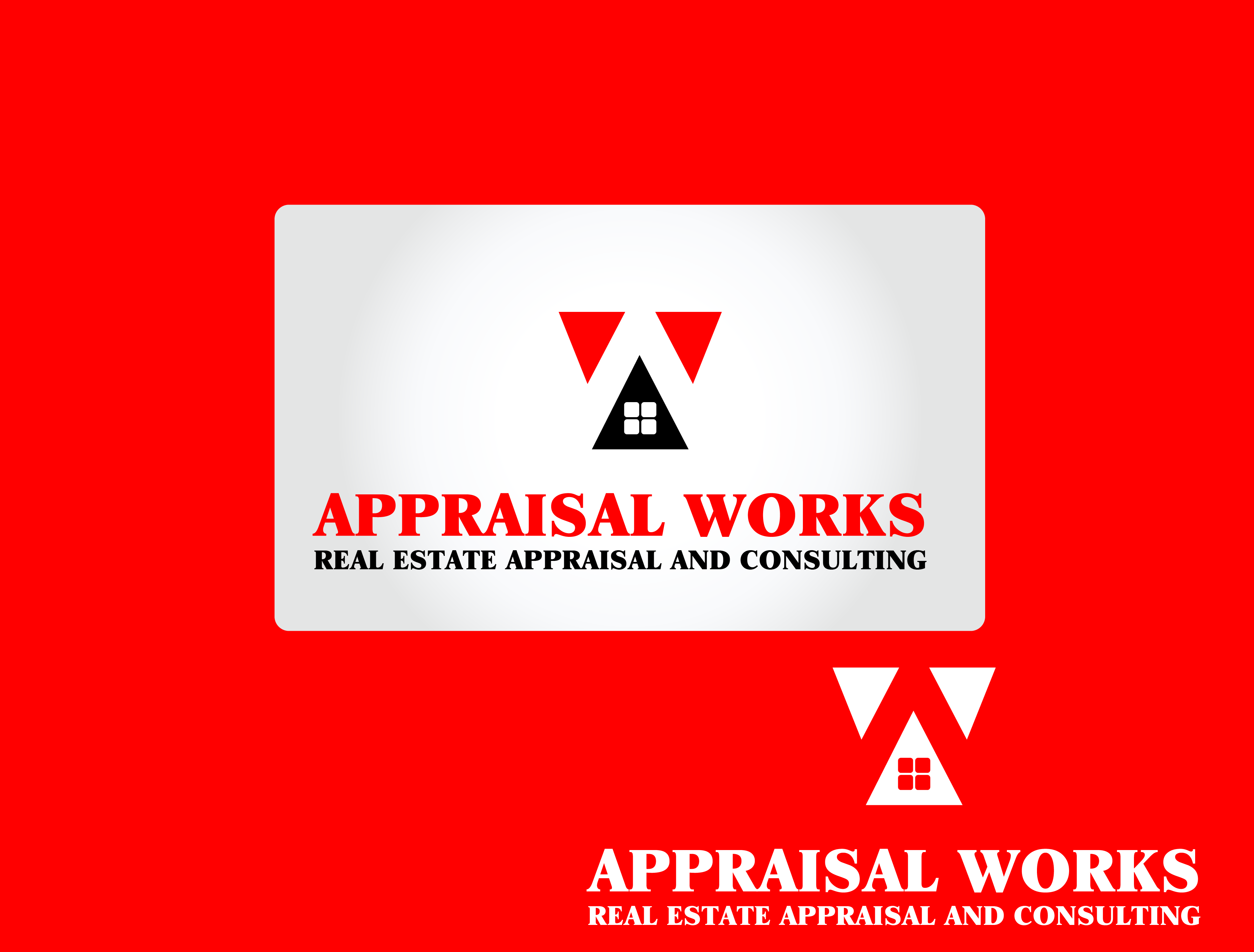 Logo Design by Private User - Entry No. 125 in the Logo Design Contest Appraisal Works Logo Design.