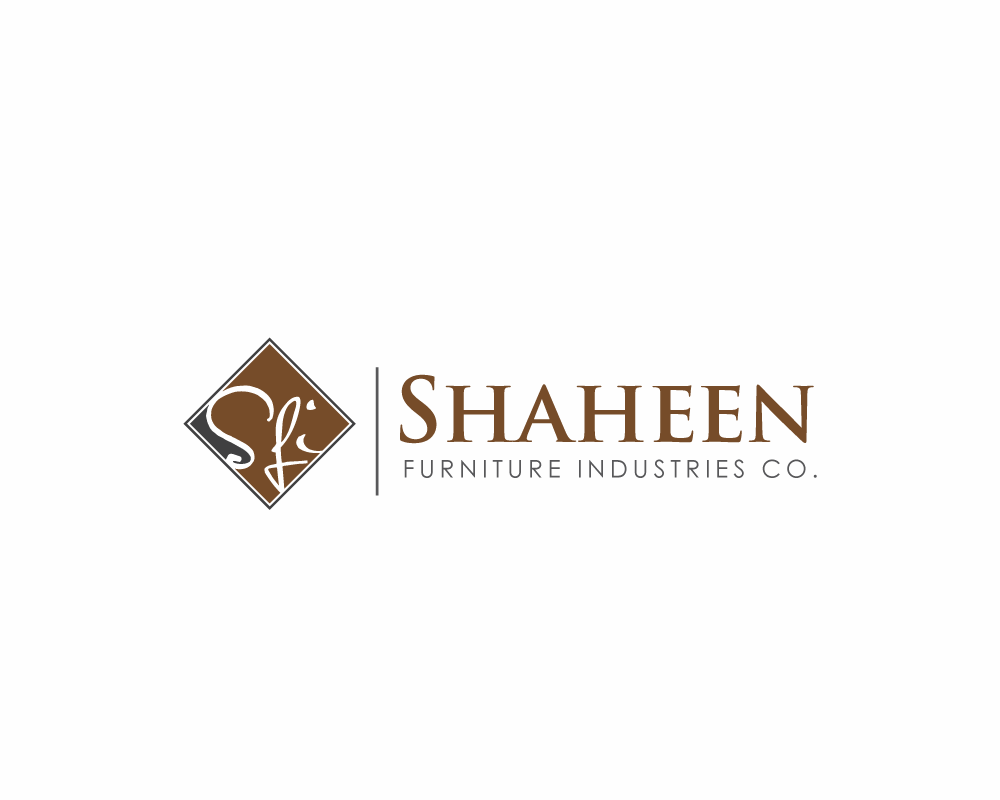 Logo Design by roc - Entry No. 9 in the Logo Design Contest Artistic Logo Design for Shaheen Furniture Industry Co..