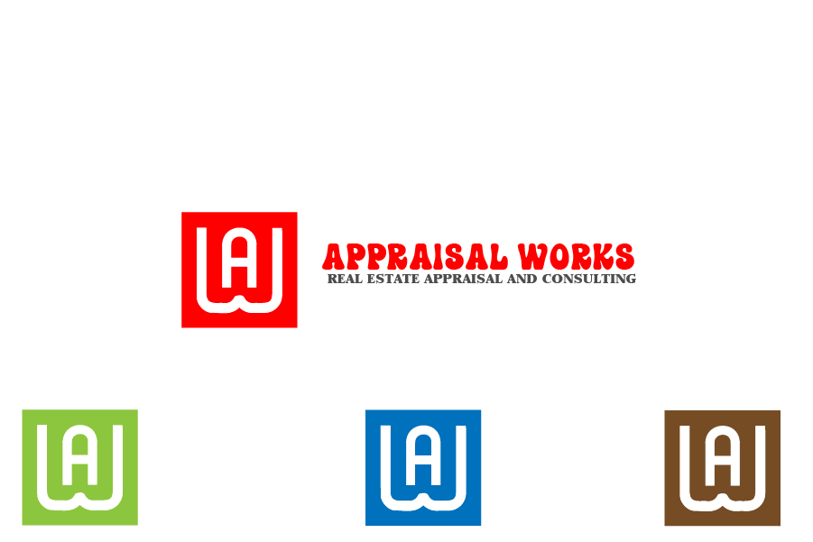 Logo Design by Private User - Entry No. 127 in the Logo Design Contest Appraisal Works Logo Design.