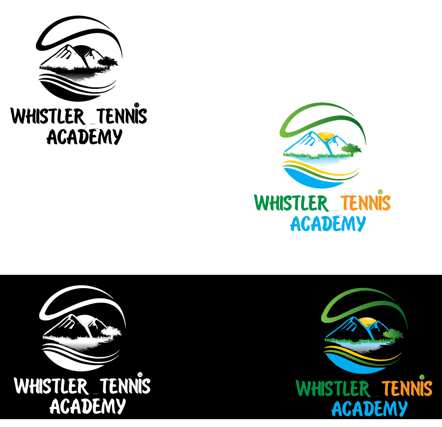 Logo Design by brands_in - Entry No. 188 in the Logo Design Contest Imaginative Logo Design for Whistler Tennis Academy.