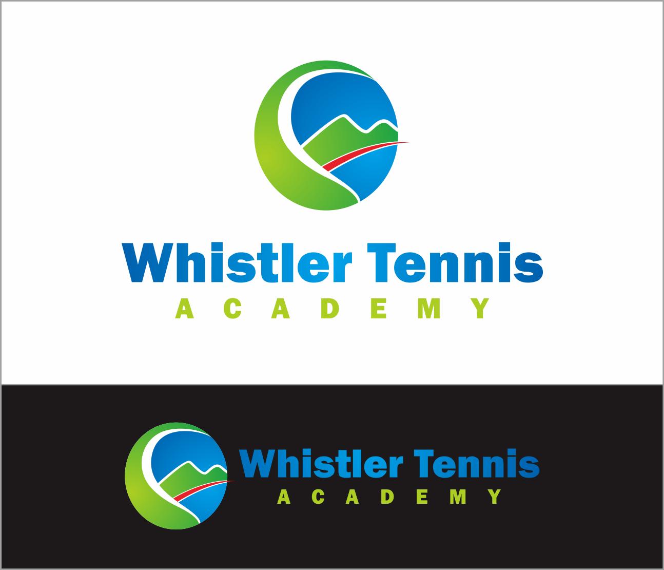 Logo Design by Armada Jamaluddin - Entry No. 189 in the Logo Design Contest Imaginative Logo Design for Whistler Tennis Academy.