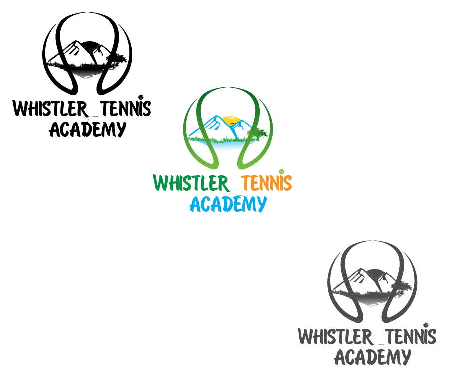 Logo Design by brands_in - Entry No. 190 in the Logo Design Contest Imaginative Logo Design for Whistler Tennis Academy.