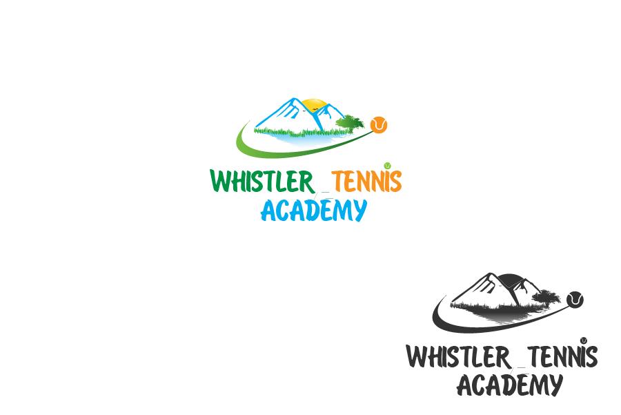 Logo Design by brands_in - Entry No. 192 in the Logo Design Contest Imaginative Logo Design for Whistler Tennis Academy.