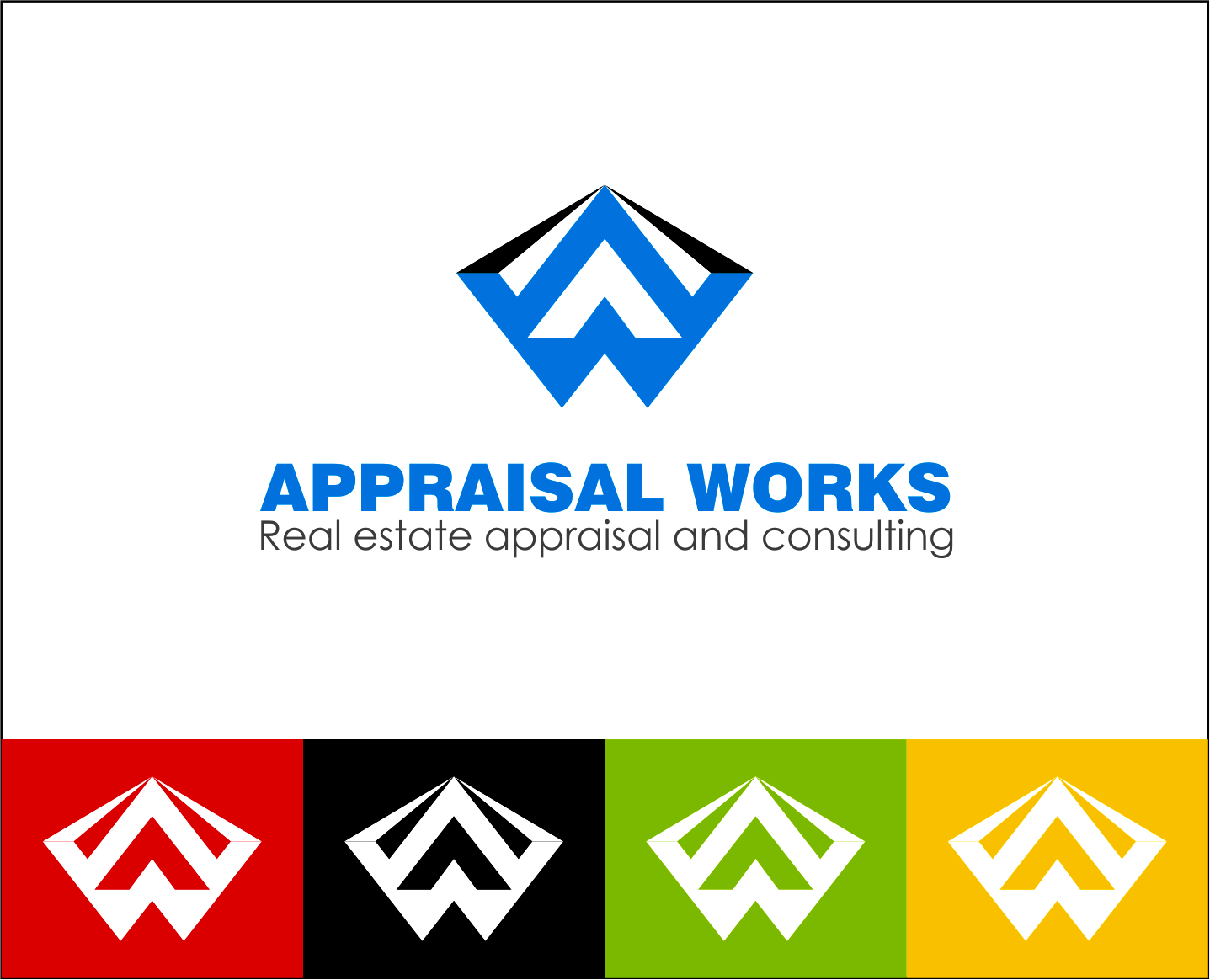 Logo Design by Armada Jamaluddin - Entry No. 129 in the Logo Design Contest Appraisal Works Logo Design.
