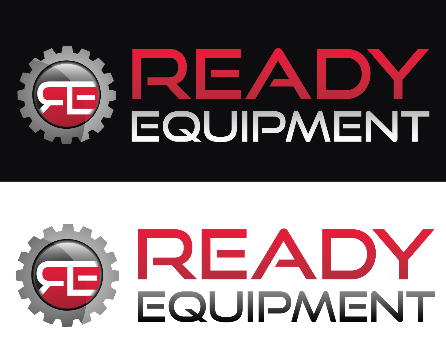 Logo Design by rA - Entry No. 170 in the Logo Design Contest Ready Equipment  Logo Design.