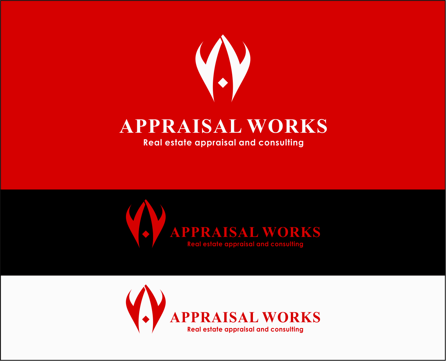 Logo Design by Armada Jamaluddin - Entry No. 131 in the Logo Design Contest Appraisal Works Logo Design.