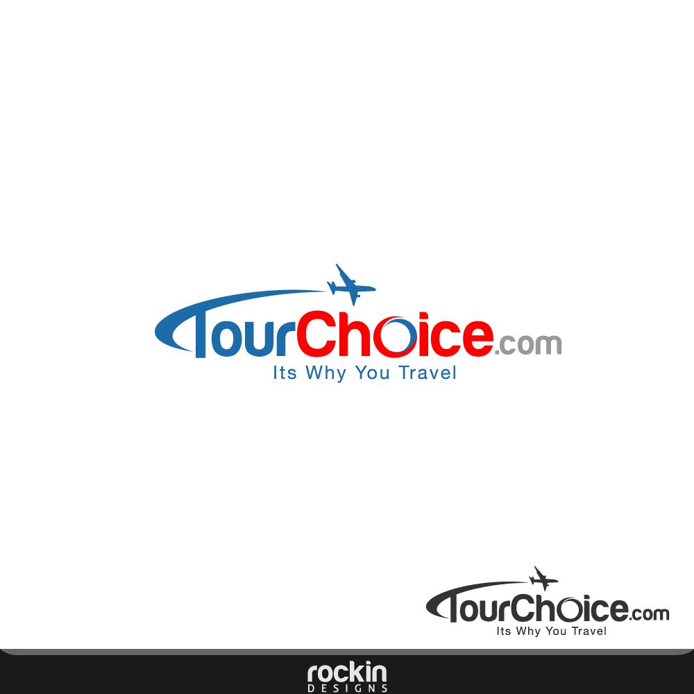 Logo Design by rockin - Entry No. 34 in the Logo Design Contest www.TourChoice.com Logo Design.
