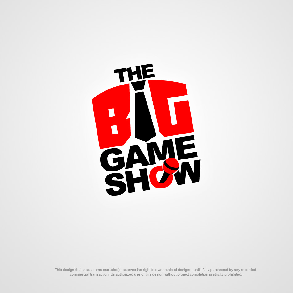 Logo Design by pinoybasket - Entry No. 20 in the Logo Design Contest The Big Game Show logo.
